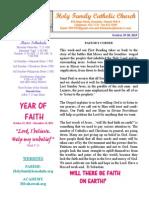 hfc october 19-20 2013 bulletin