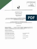 Resolucion 063 2013 CA