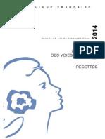Voies et moyens 2014 - tome 1