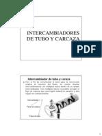 Intercambiador de Coraza y Tubo