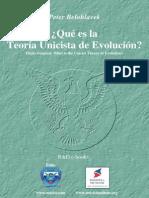 Belohlavek Peter - Teoria Unicista de Evolucion