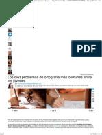 Los diez problemas de ortografía más comunes entre los jóvenes _ Argentina, Argentinos, Buenos Aires, Educación, Facebook, Jorg