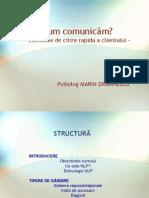 Comunicare Client NLP