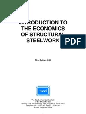 Economics of Structural Steel Work | Structural Steel | Metal