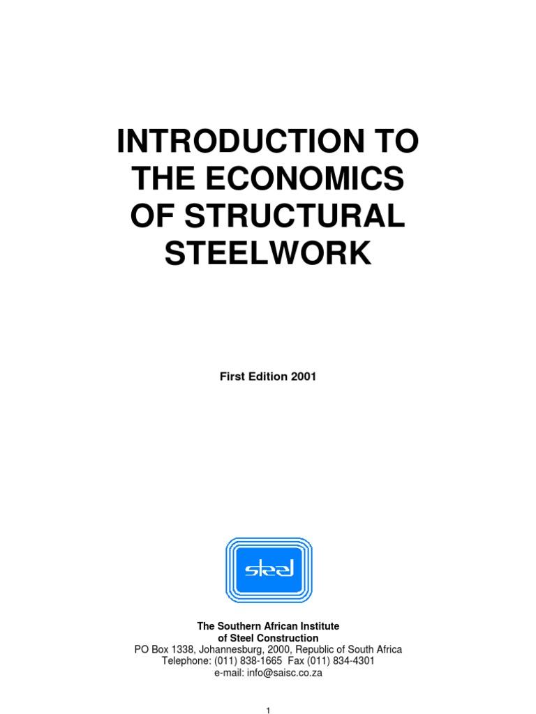 Economics of Structural Steel Work   Structural Steel   Metal