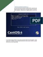 Instalacion de Centos 6.4