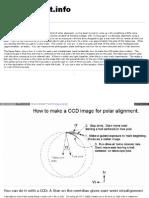 Www Minorplanet Info ObsGuides Misc Ccdpolaralignment Htm
