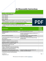 Disassembly Notebo 201151025454