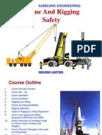 Crane, Rigging & Lifting