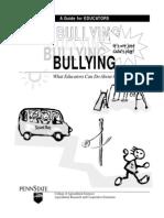 Bullying for Teachers