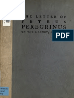 The Letter of Petrus on the Magnet