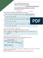 resoluçao lista de matematica