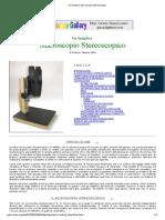 Un Semplice Microscopio Stereoscopico