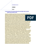 Piglia, Ricardo (2013) Conversaciones con Martín Kohan sobre la novela policial como metáfora social [eljineteinsomne].doc