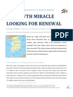 A Growth Miracle Looking for Renewal