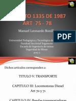 Decreto 1335 de 1987 (2 Expo)