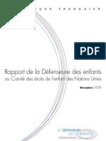 Rapport Geneve de la défenseure des enfants