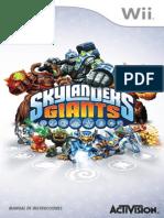Skylanders Giants Online Manuals Wii Online Manual SP v3