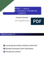 Cours2 Estimations