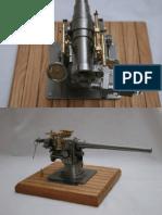 A1272 Deck Gun Model