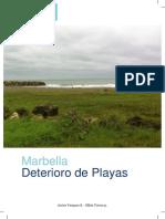 Marbella Deterioro de Playas Por Javier Vasquez Sierra