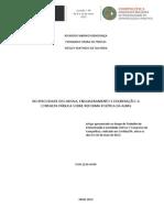 MENDONÇA, Ricardo, FREITAS, Fernando, OLIVEIRA, Wesley - Reciprocidade discursiva, enquadramento e deliberação - a conmsulta pública sobre reforma política da ALMG