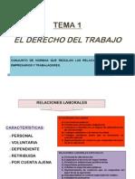 Tema 1. Derecho Del Trabajo (2)