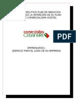 Resumen Ejecutivo Plan de Negocios