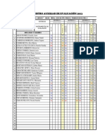 Registro Auxiliar de Evaluacion 2013
