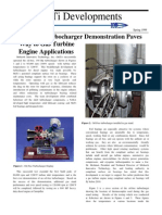 Oilfree Turbocharger Gas Engine Applications