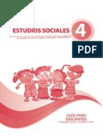 Guia Sociales Cuarto Ano