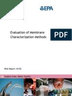 Membrane Characerizations Net 4102