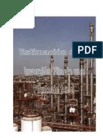 Informe #1 Estimación de la Inversión Fija _Planta de Fenol