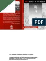 LIBRO 1912- Cenizas de Una Hoguera- Los Autores de La Barbarie