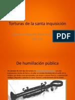 Torturas de la santa inquisición