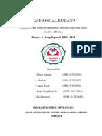 Tugas Ilmu Sosial Budaya Kel 3