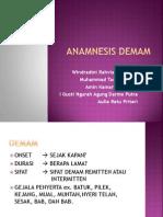 ANAMNESIS DEMAM