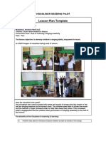 Mulbarton Infant School Singing Lesson Plan