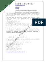 Macetes de Direito Administrativo - Saber Mais Direito