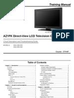 Sony Ctv-67 Az1fk Chassis Training Manual...KDL32BX300...KDL22BX300