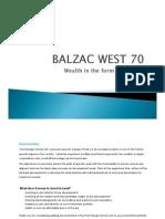 Balzac West- Sw Corner 70