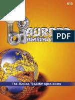 Aurora Bearing 610 Catalog