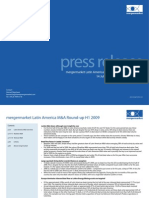 Press Release Latin America Round Up H1 2009