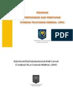 Pedoman Penyusunan Dan Penetapan Standar Pelayanan Minimal (SPM)
