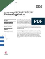 Designing Performance Into Web Apps- IBM