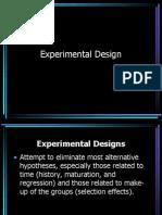 301Experimental Design