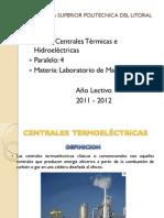Centrales Térmicas e Hidroeléctricas