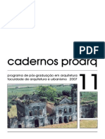 Cadernos ProArq 11