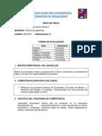 Física_Forma de Evaluación_6BI