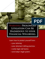 Protecting Yourself From Expensive Attorney Stall Tactics
